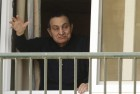 Egypt's Deposed Autocrat Mubarak Turns 87, Waves to Fans