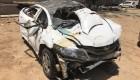 2 Students Died, 5 Critical After Honda City Falls Off Delhi Flyover