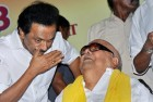 Karunanidhi's Health is Improving, Says Stalin