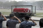 Thousands Bid Farewell to Lee Amid Heavy Rains in Singapore