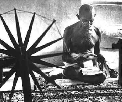 essay on gandhiji and the charkha