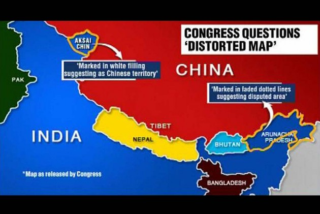 Chinese Media Shows India's Map Without J&K and Arunachal on