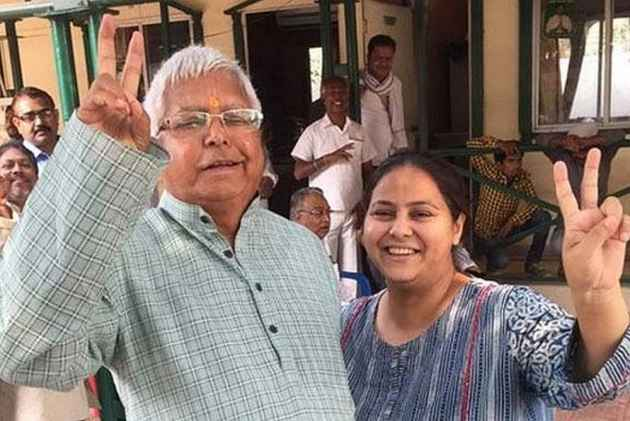 Lalu's Daughter Misa Bharti Says Her Husband, Dead CA Responsible For Accused Firm's Business Activities