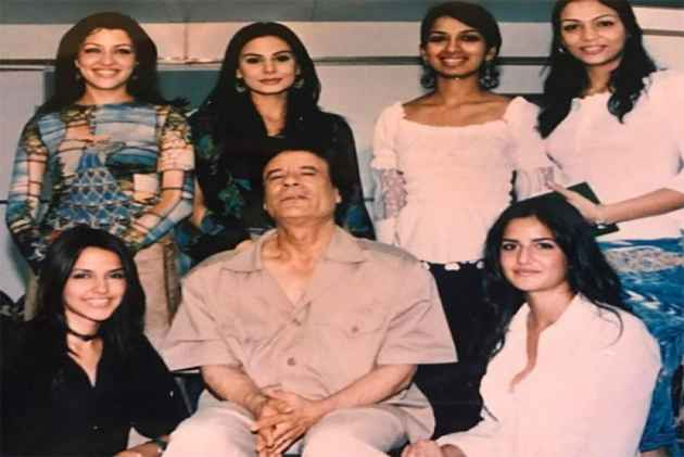 Old Picture Of Katrina Kaif, Neha Dhupia  With Slain Libyan Dictator Muammar Gaddafi Goes Viral