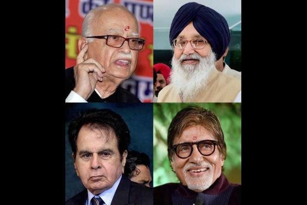Advani, Bachchan, Dilip Kumar Get Padma Vibhushan