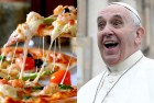 Pope Francis Treats 1500 Homeless People to Pizza After Mother Teresa's Canonization