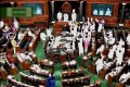 Opposition Protests Over Remarks of V.K. Singh, RSS Chief Disrupts Rajya Sabha