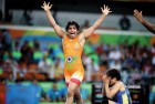 Sakshi Malik Enters the Finals of Asian Wrestling Championship