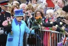 Queen Elizabeth II 'Nearly Shot' by Palace Guardsman: Report
