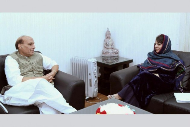 Mehbooba Rules Out Probe Into Valley Unrest, Blames Opposition For Sowing 'Seeds' Of Turmoil