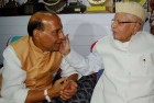 Rajnath Singh Meets N.D. Tiwari, Seeks Blessing
