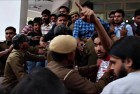 Students Clash Outside DU's Ramjas College Over Invite to JNU's Umar Khalid