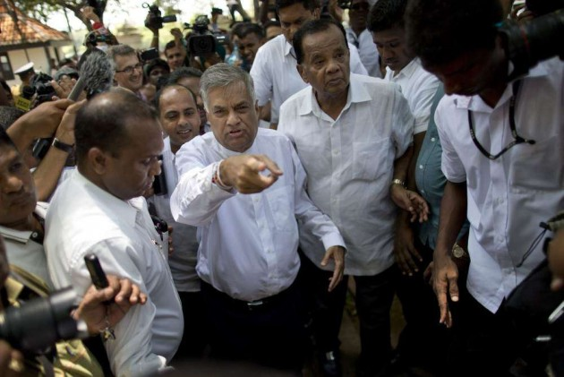 Ranil Wickremesinghe Sworn In as Lanka PM