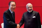 Ban Ki- Moon Expresses Hope That India, Pak Will Resolve Water Issue Themselves