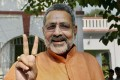 Tripura Has Sarkar, But no Governance: Giriraj Singh