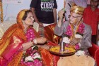 89-Year-Old Tiwari Marries Mother of His Biological Son